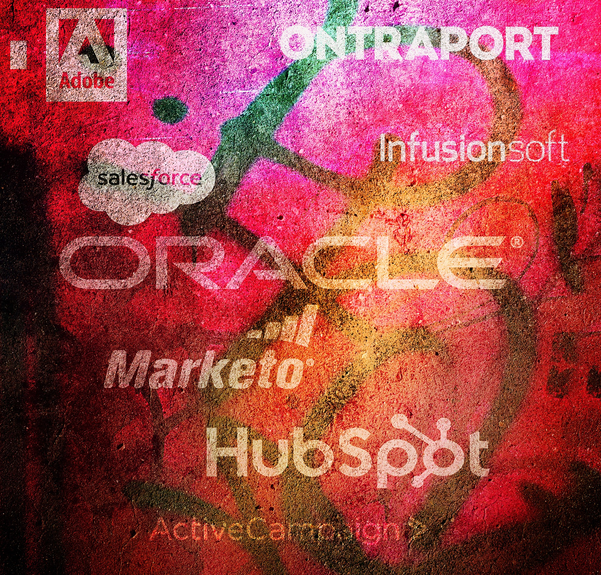 adobe, ontraport, salesforce, infusionsoft, oracle, marketo, hubspot, activecampaign